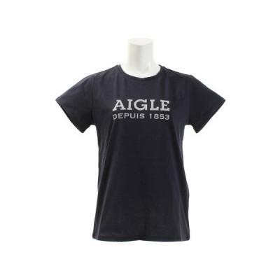 エーグル(AIGLE) DFT AIGLEロゴtシャツ 半袖 ZTF003C-075  (レディース)