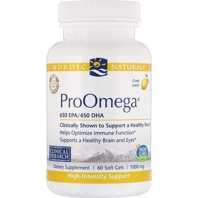ProOmega, Lemon, 1,000 mg, 60 Soft Gels
