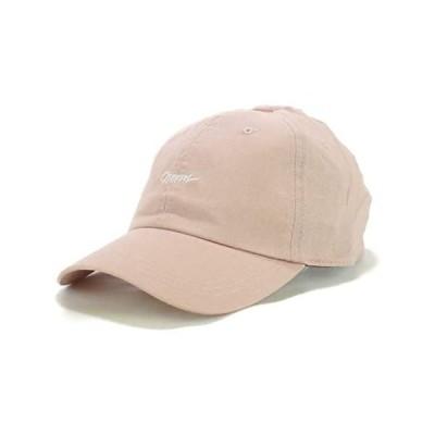 [Smart Hat Factry] norm 刺繍 キャップ リネン MIX ローキャップ メンズ レディース (ピンク 58.0 cm)