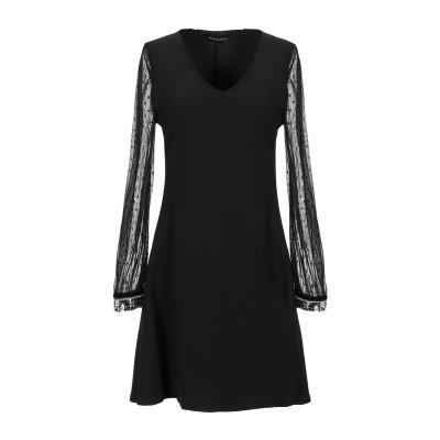 MANGANO ミニワンピース&ドレス ブラック S ポリエステル 95% / ポリウレタン 5% / ナイロン ミニワンピース&ドレス