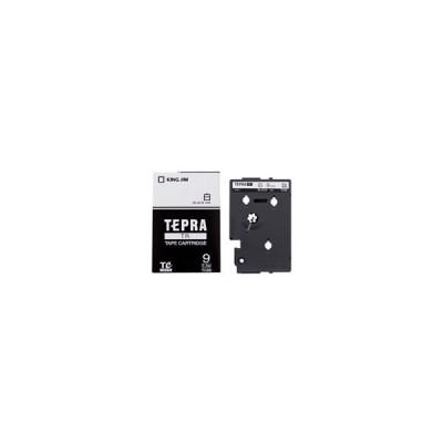 キングジム TRテープカートリッジ 白ラベル 9mm幅 TC9S
