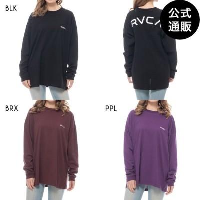 SALE 2020 RVCA ルーカ レディース BACK ARCH RVCA LS ロングスリーブTシャツ 全3色 XS/S rvca