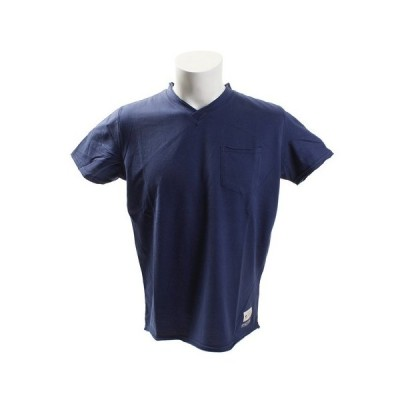エルケクス(ELKEX) SUPIMA Vネック Tシャツ 863EK8HD5785 IBLU (メンズ)