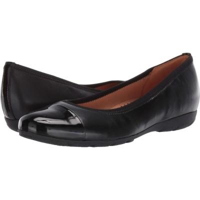 ガボール Gabor レディース スリッポン・フラット シューズ・靴 34.161 Black Nappa HT/Lack HT