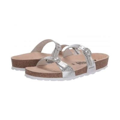 Mephisto メフィスト レディース 女性用 シューズ 靴 サンダル Norie - Silver Edison