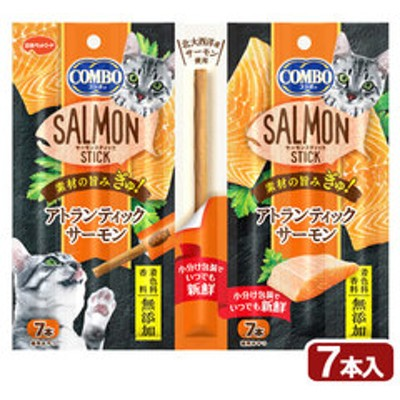 日本ペット コンボ キャット サーモンスティック アトランティックサーモン 7本 関東当日便