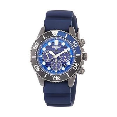[セイコーウォッチ] 腕時計 プロスペックス ソーラー Save the Ocean Special Edition限定 ブルー文字盤 クロノグラフ
