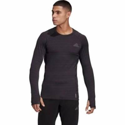 アディダス Adidas メンズ 長袖Tシャツ トップス Adi Runner Long - Sleeve Shirt Black