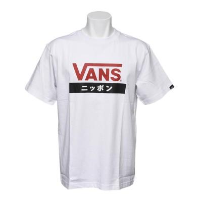 【VANS】 ヴァンズ JAPAN S/S TEE ショートスリーブ VANS-JPABC WHITE M ホワイト