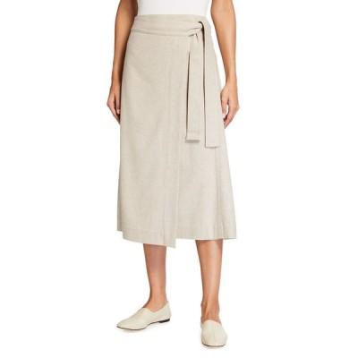 ヴィンス レディース スカート ボトムス High Waist Belted Skirt