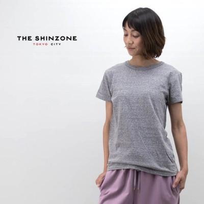 THE SHINZONE シンゾーン レディース クルーネックTシャツ(14SMSCU22)(BASIC)