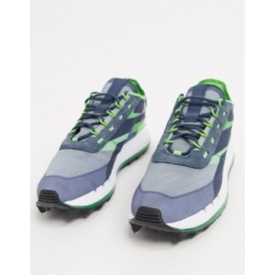 リーボック レディース スニーカー シューズ Reebok X Gigi Legacy 83 X sneakers in indigo Green