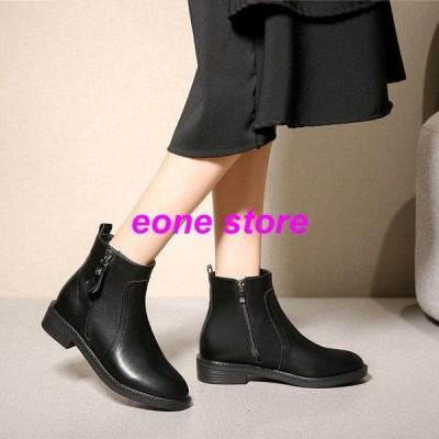 ブーツ ショートブーツ レディースブーツ 靴黒 裏起毛ショートブーツ レディースシューズ 美脚 歩きやすい 疲れない 秋冬 新作