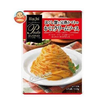 ハチ食品 パスタボーノ ほぐし蟹と完熟トマトのかにクリームソース 110g×24個入