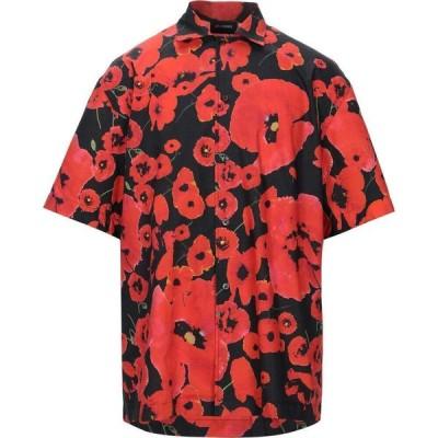 レゾム LES HOMMES メンズ シャツ トップス Patterned Shirt Red