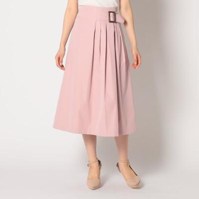 ミッシュマッシュ MISCH MASCH バックル付きスカート (ピンク系)