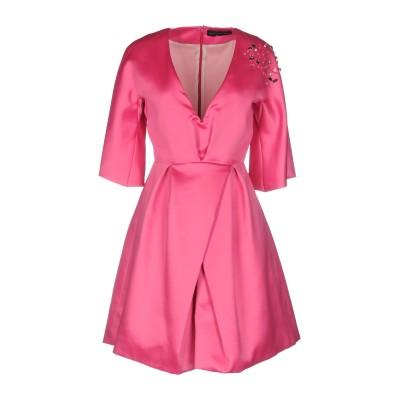 アレッサンドロデラクア ALESSANDRO DELL'ACQUA ミニワンピース&ドレス フューシャ 38 ポリエステル 100% ミニワンピース