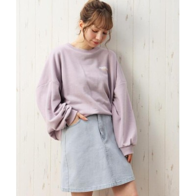 INGNI / 台形スカート WOMEN スカート > デニムスカート