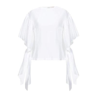 JUCCA ブラウス  レディースファッション  トップス  シャツ、ブラウス  長袖 ホワイト