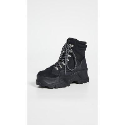 【残り1点!】【サイズ:26.5cm】バッファロー buffalo レディース シューズ・靴 ブーツ Buffalo London Fendo Lace Up Boots Black