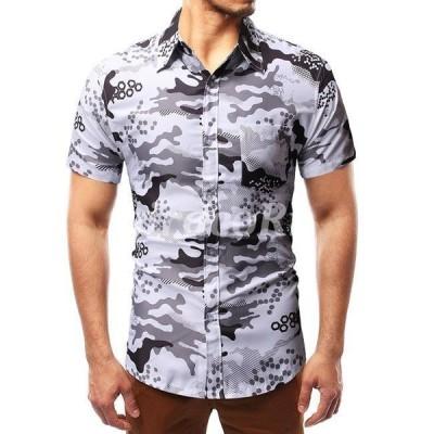 アロハシャツ メンズ 半袖 ハワイアンシャツ シャツ アロハシャツ ビーチ 祭り M L XL 2XL メンズ用 夏春 メンズファッション