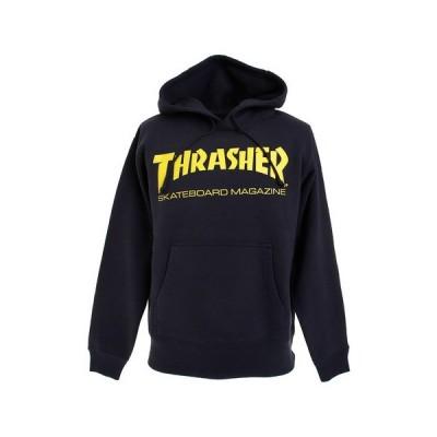 スラッシャー(THRASHER) MAG LOGO パーカー TH8501NVYE (メンズ)