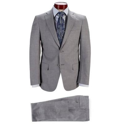 ハート シャフナー マルクス メンズ ジャケット・ブルゾン アウター Modern Fit Solid Grey Wool Blend Suit