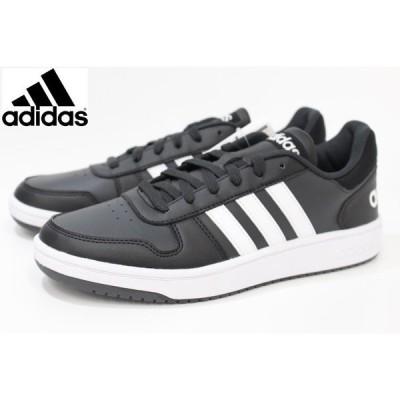 アディダス メンズ スニーカー adidas ADIHOOPS 2.0 B44699 BLACK/WHITE