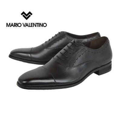 マリオヴァレンティーノ(MARIO VALENTINO)[MR3039]Black マリオヴァレンティーノ ストレートチップ ビジネスシューズ