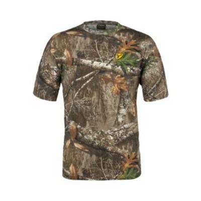 ファッション トップス ScentBlocker Cotton Short Sleeve T Shirt Shield Series Lightweight Odor Cont...