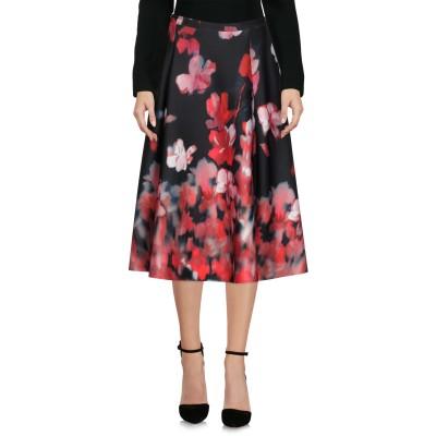 BLACK CORAL 7分丈スカート レッド 40 ポリエステル 92% / ポリウレタン 8% 7分丈スカート