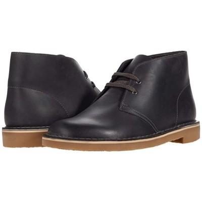 クラークス Bushacre 3 メンズ ブーツ Grey Leather