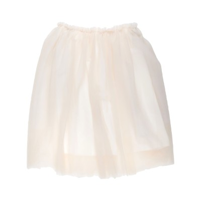 スーベニア SOUVENIR ひざ丈スカート アイボリー M ナイロン 100% ひざ丈スカート