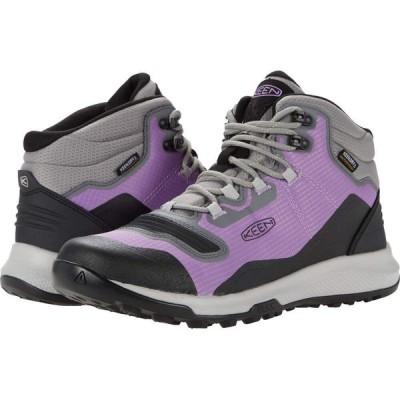 キーン KEEN レディース ハイキング・登山 シューズ・靴 Tempo Flex Mid WP African Violet/Sharp Green
