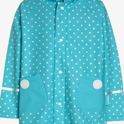 プレイシューズ キッズ ファッション PUNKTE - Waterproof jacket - turkis