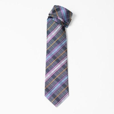 Styleedition パターンミックスチェック柄  日本製 ネクタイ