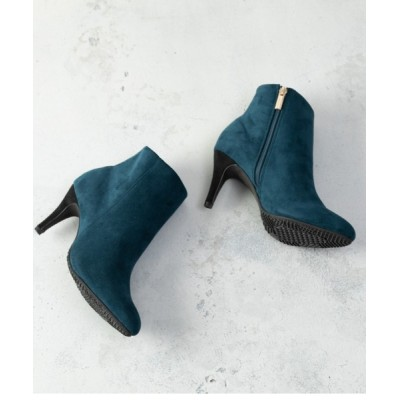 Noubel Voug Relax / キレイめカラーシンプルハイヒールショートブーツ WOMEN シューズ > ブーツ