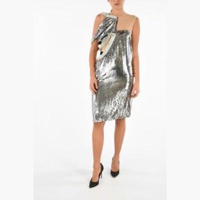 MAISON MARGIELA/メゾン マルジェラ ドレス Silver レディース MM0 Velvet Silver Dress dk