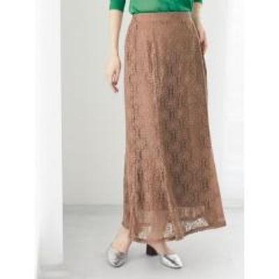 グリーンパークスPetit Fleur レースマーメイドスカート