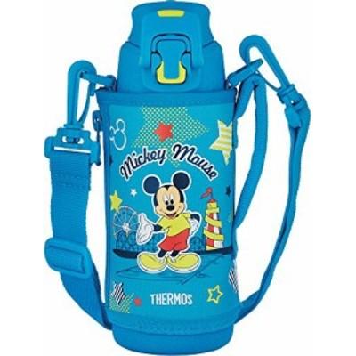 【新品】サーモス 水筒 真空断熱スポーツボトル ミッキー ブルーライム 500ml FFZ-502FDS BLL