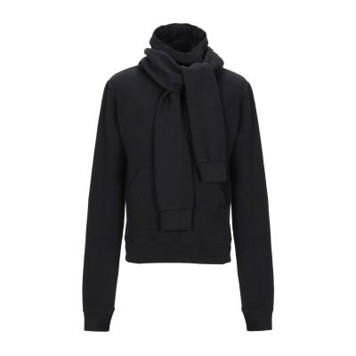 BEN TAVERNITI™ UNRAVEL PROJECT スウェットシャツ ブラック XS コットン 100% / ポリウレタン / レーヨン