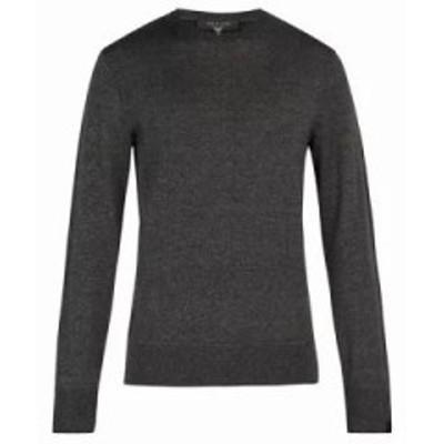 ラグ&ボーン ニット・セーター Dean wool-blend sweater Grey