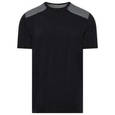 アンダーアーマー Tシャツ メンズ トップス Team Sportstyle Stadium S/S TShirt Black/White