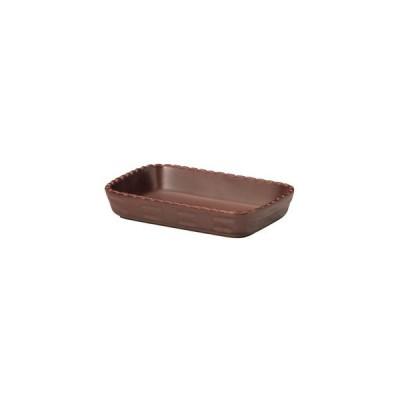ミヤザキ食器 カンパーニャ 長角ベーカー ブラウン 15cm CP0815(BR) RCA0301