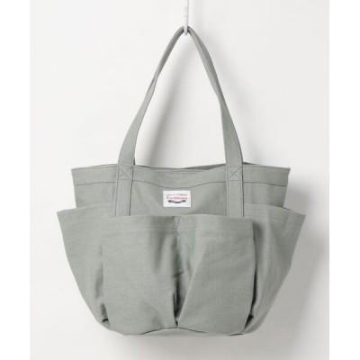 L.i / 【Via Demizon ビアデミゾン】【洗えるバッグ】ポケットたくさんキャンバスA4トートバッグ WOMEN バッグ > トートバッグ
