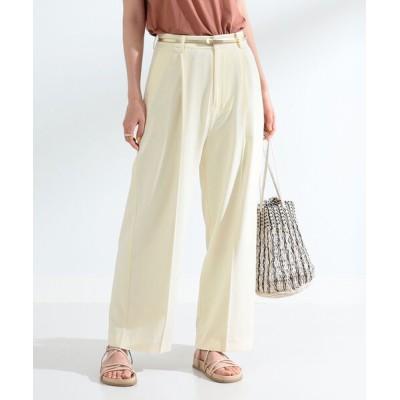 BEAMS WOMEN / Ray BEAMS / ジョーゼット カラー パンツ WOMEN パンツ > スラックス