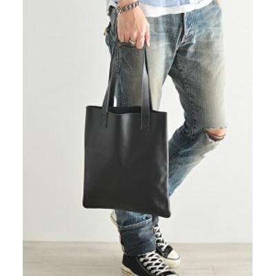 送料無料 トートバッグ 縦型 オリジナル ブランド 本革 レザー オールレザー ビジネスバッグ A4 メンズ 大人 ブラック 黒色  誕生日