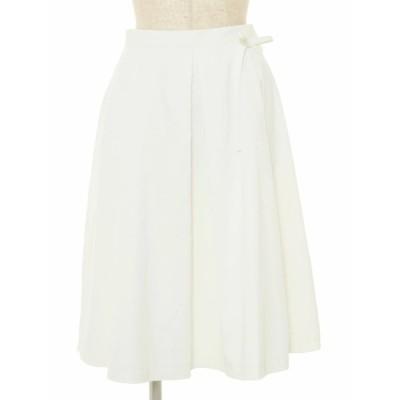エムズグレイシー スカート Flared Skirt リボン 38
