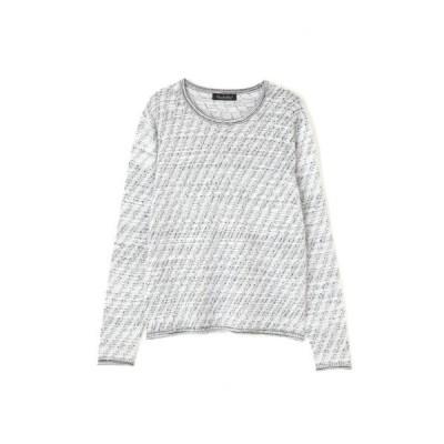 tシャツ Tシャツ TORNADO MART∴バイアスタッククルーネックニット