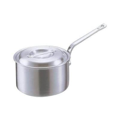 アカオアルミ DON片手深型鍋 15? アルミニウム合金、ハンドル(アルミダイキャスト) 日本 AKT19015